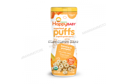Happy Baby Organic Puff 60g (6 Flavours)