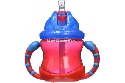 Nuby Flip And Sip Cup -Fat Straw Cup 8OZ/240ML NB92166