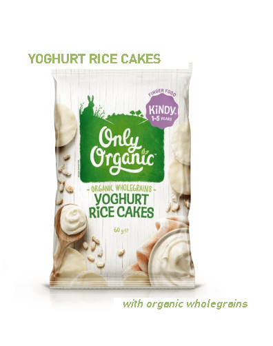 Only Organic Yoghurt Rice Cakes (1-5 Years Old) 60G