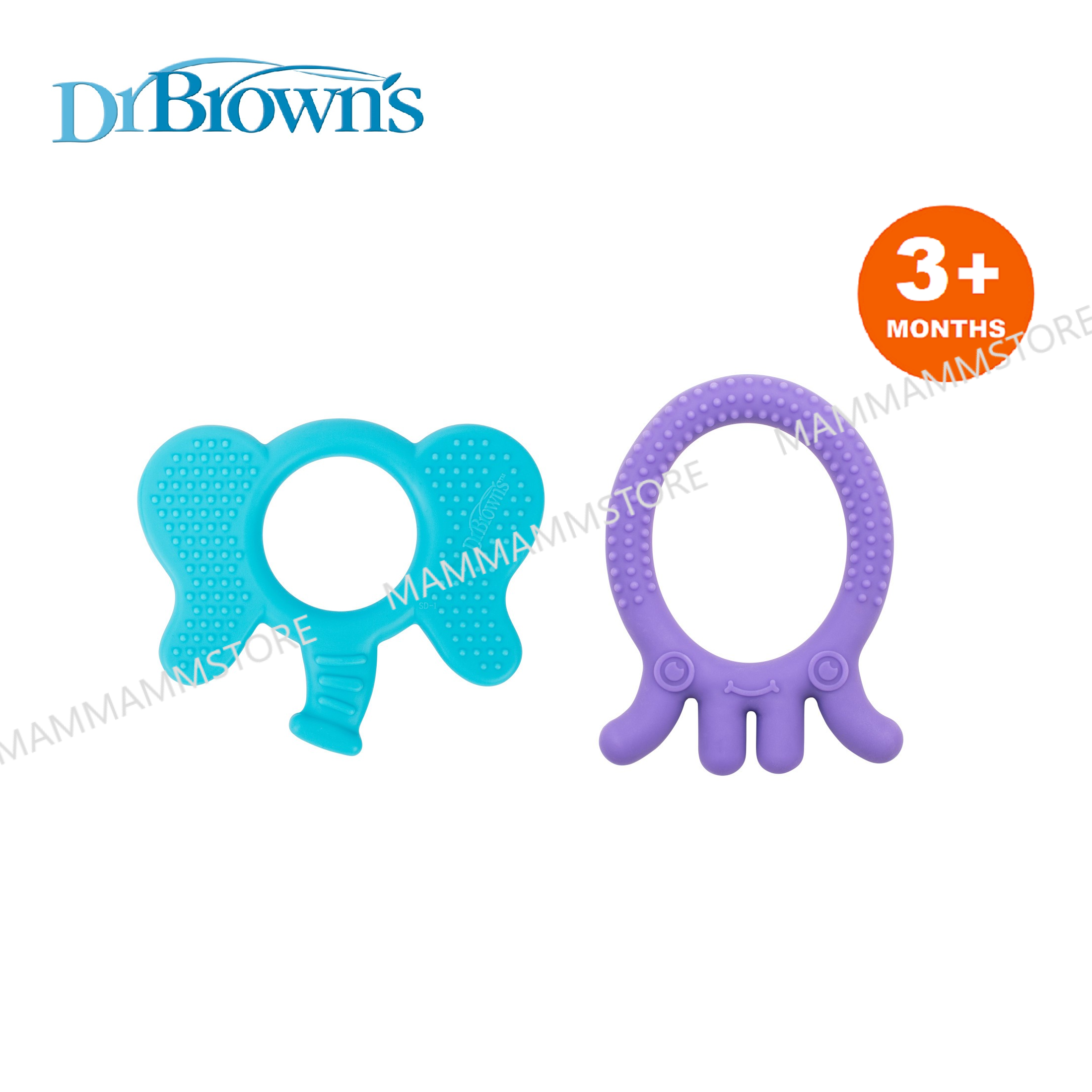 Dr Brown\'s Flexees Friends Teether For 3 Months And Above